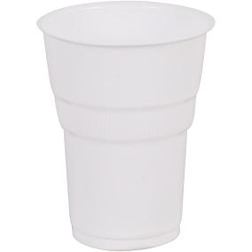Ποτήρια RIVA CLASSICS πλαστικά PP λευκά 250ml (6x50τεμ.)