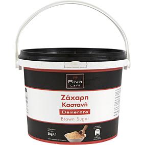 Ζάχαρη RIVA CAFÉ κρυσταλλική σε δοχείο (3kg)