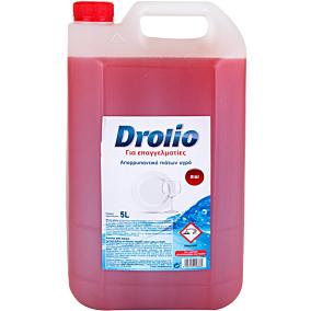 Απορρυπαντικό πιάτων DROLIO ΓΙΑ ΕΠΑΓΓΕΛΜΑΤΙΕΣ ξύδι, υγρό (5lt)