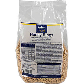Δημητριακά ARION FOOD honey rings (500g)