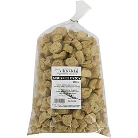 Παξιμάδι TSIKNAKIS μπουκιές ούζου (2kg)