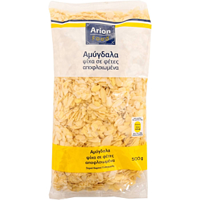 Αμύγδαλα ARION FOOD ψίχα, σε φέτες, αποφλοιωμένα (500g)