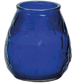 Κερί KCB Bistro Light σε ποτήρι μπλε