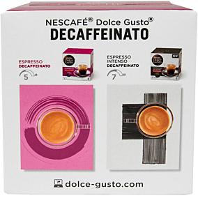 Καφές NESCAFÉ dolce gusto espresso decaf σε κάψουλες (96g)