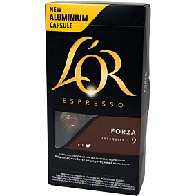 Καφές L'OR espresso forza σε κάψουλες (10x5,2g)