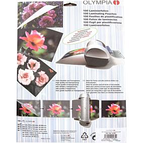 Φύλλα πλαστικοποίησης OLYMPIA A3,80 mic,100 φύλλα