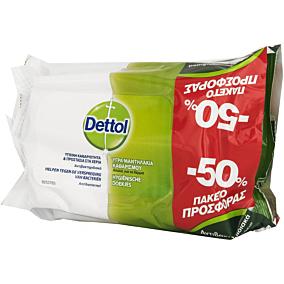 Υγρά μαντηλάκια DETTOL αντιβακτηριδιακά (3x15τεμ.)