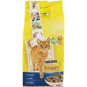 Ξηρά τροφή FRISKIES γάτας με τόνο και λαχανικά (2kg)