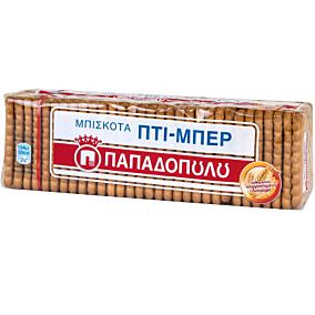 Μπισκότα ΠΑΠΑΔΟΠΟΥΛΟΥ ΠΤΙ ΜΠΕΡ No. 16 (12x225g)