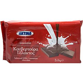 Κουβερτούρα ΑΚΤΙΝΑ γάλακτος (2kg)