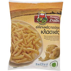 Πατάτες ΜΠΑΡΜΠΑ ΣΤΑΘΗΣ κλασικές κατεψυγμένες (1kg)