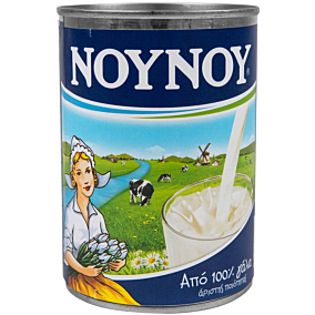 Γάλα ΝΟΥΝΟΥ εβαπορέ πλήρες (400ml)