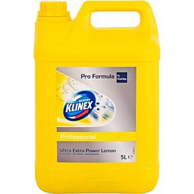 Χλωρίνη KLINEX professional Ultra με άρωμα λεμόνι (5lt)