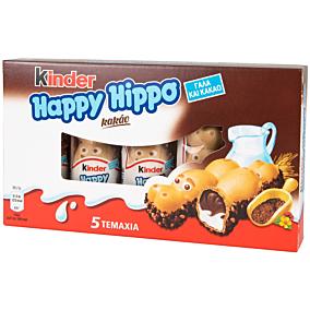 Σοκολάτα KINDER Happy Hippo γάλακτος με γέμιση κακάο (5τεμ.)