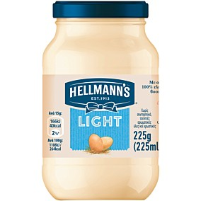 Μαγιονέζα HELLMANN'S light (225ml)