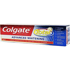 Οδοντόκρεμα COLGATE total advanced whitening (75ml)