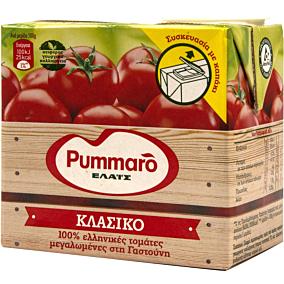 Χυμός τομάτας PUMMARO κλασικός ελαφρά συμπυκνωμένος με καπάκι (500g)
