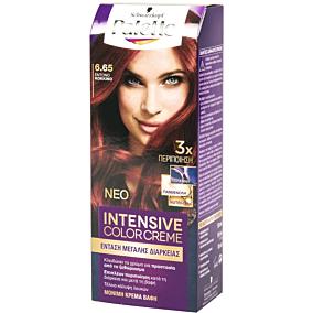 Βαφή μαλλιών SCHWARZKOPF palette semi set έντονο κόκκινο no.6.65