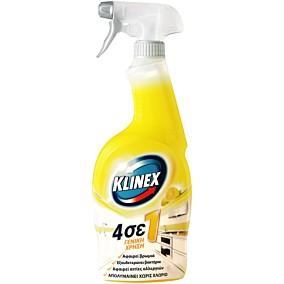 Καθαριστικό KLINEX γενικής χρήσης με άρωμα λεμόνι, σε σπρέι (750ml)