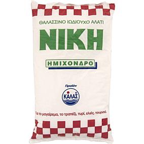 Αλάτι χοντρό ΝΙΚΗ ημίχονδρο (1kg)