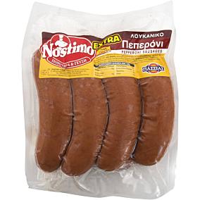 Λουκάνικα ΠΑΣΣΙΑΣ Nostimo Extra με πεπερόνι (~1kg)