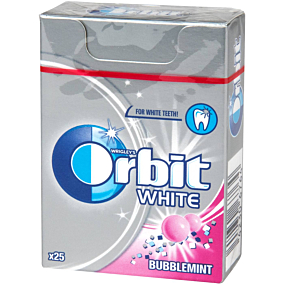 Τσίχλες ORBIT White Bubblemint (39g)