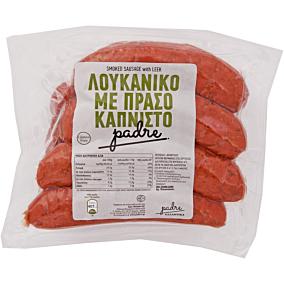Λουκάνικα PADRE χωριάτικα μερίδας με πράσο (1kg)