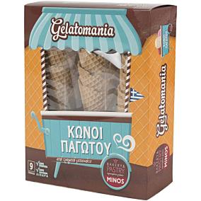 Χωνάκια παγωτού GELATOMANIA (9τεμ.)