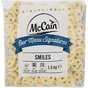 Πατάτες MCCAIN παιδικές σε σχήμα χαμόγελο κατεψυγμένες (1,5kg)