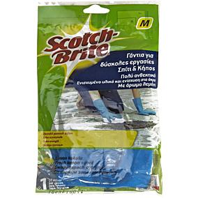 Γάντια SCOTCH-BRITE κουζίνας heavy duty, medium (1τεμ.)