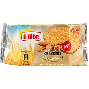 Κράκερ ELITE μεσογειακά με καστανή ζάχαρη και κανέλα (105g)