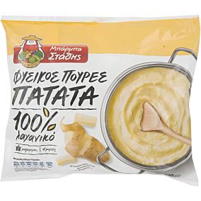 Πουρές πατάτας ΜΠΑΡΜΠΑ ΣΤΑΘΗΣ κατεψυγμένος (600g)