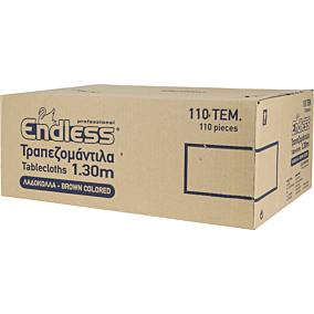 Τραπεζομάντηλα ENDLESS κραφτ με σχέδιο ελιά 1x1,3m (110τεμ.)