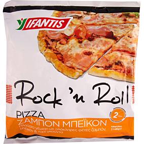 Πίτσα IFANTIS με ζαμπόν και τυρί κατεψυγμένη (2τεμ.)