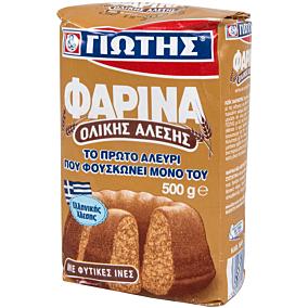 Αλεύρι ΓΙΩΤΗΣ φαρίνα ολικής άλεσης για κέικ (500g)