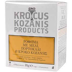 Αφέψημα KROCUS KOZANIS με μέλι (10τεμ.)