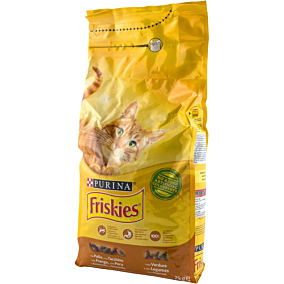 Ξηρά τροφή FRISKIES γάτας με κοτόπουλο (2kg)