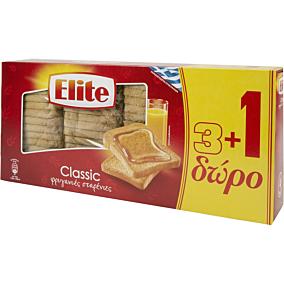 Φρυγανιές ELITE σίτου (4x125g)