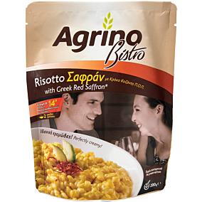 Ρύζι AGRINO ριζότο με σαφράν από κρόκο Κοζάνης (200g)