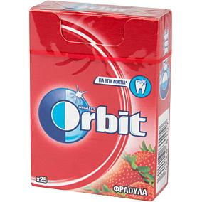 Τσίχλες ORBIT φράουλα (12τεμ.)