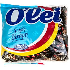 Καραμέλες O'LEI καφέ χωρίς ζάχαρη (1kg)