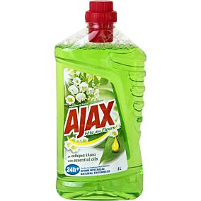 Καθαριστικό AJAX για το πάτωμα fete des fleurs λουλούδια της άνοιξης, υγρό (1lt)