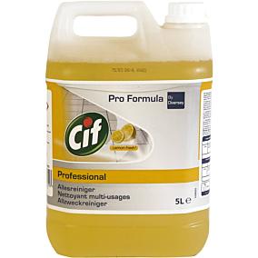 Καθαριστικό CIF fresh για το πάτωμα με άρωμα λεμόνι, υγρό (5lt)