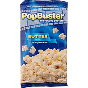 Ποπ κορν POPBUSTER βουτύρου για μικροκύματα (100g)