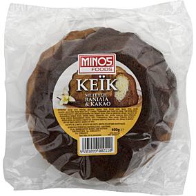 Κέικ MINOS Foods με βανίλια και κακάο (400g)