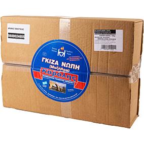 Τυρί ΚΑΡΑΛΗΣ γκίζα νωπή (10kg)