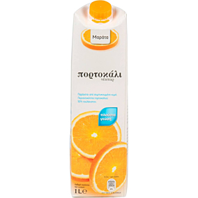 Χυμός ΜΑΡΑΤΑ νέκταρ πορτοκάλι (1lt)