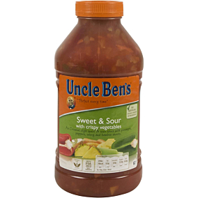 Σάλτσα UNCLE BEN'S γλυκόξινη (2,3kg)