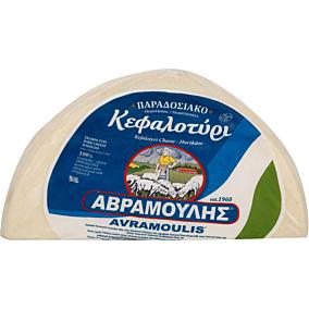 Τυρί ΑΒΡΑΜΟΥΛΗ κεφαλοτύρι (~4kg)