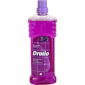 Απολυμαντικό DROLIO για το πάτωμα με άρωμα λεβάντα, υγρό (1lt)